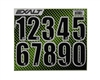 Exalt Loader/Hopper Number Sticker Sheet - Black