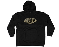 BT Pull Over Hooded Sweatshirt - Black