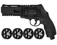 T4E .50 Cal TR50 Paintball Revolver Pistol - Black