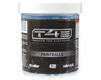 T4E .43 Cal Paintballs - Precision - 430 Rounds