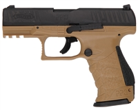 T4E .43 Cal Training Paintball Pistol - Walther PPQ M2 LE (2292102) - FDE