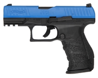 T4E .43 Cal Training Paintball Pistol - Walther PPQ M2 LE w/ Extra Magazine (2292104) - Blue/Black