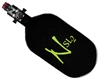 77/4500 w/ Pro V2 SLP Regulator Ninja SL2 Carbon FIber Air Tank - Black/Lime
