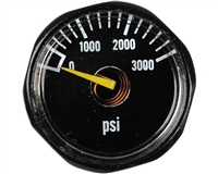 Blackout Tank Gauge - 3,000 PSI