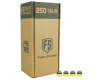 Tiberius Arms First Strike 250 Count Paintballs - Smoke/Yellow Shell w/ Yellow Fill