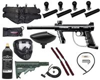 Tippmann 98 Custom Platinum Series Kit - GXG X-VSN, 20 Oz Tank, 4+1, Remote, Stock