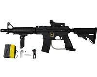 Tippmann US Army Alpha Black Elite Tactical Sniper Paintball Marker Kit - Black