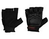Tippmann Armored Back Half Finger Paintball Gloves - Black