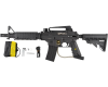 Tippmann US Army Alpha Black Elite Tactical Paintball Marker with E-Trigger - Black