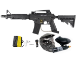 Tippmann US Army Alpha Black Elite Tactical Paintball Gun Power Kit