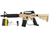 Tippmann US Army Alpha Black Elite Tactical Paintball Marker - Tan/Black