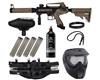 Tippmann Cronus .50 Cal Tactical Epic Paintball Gun Package Kit - Black/Dark Earth