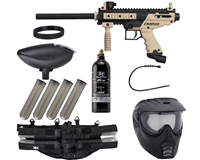 Tippmann Cronus Epic Paintball Gun Package Kit - Tan/Black