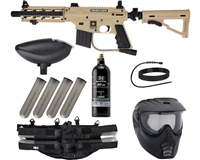 Tippmann US Army Project Salvo Epic Paintball Gun Package Kit