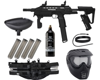 Tippmann Tactical Compact Rifle (TCR) Epic Paintball Gun Kit