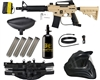 Tippmann US Army Alpha Black Elite Tactical Legendary Paintball Gun Kit - Tan