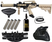 Tippmann Cronus Tactical Legendary Paintball Gun Package Kit - Tan/Black