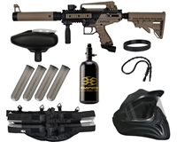 Tippmann Cronus .50 Cal Tactical Legendary Paintball Gun Package Kit - Black/Dark Earth