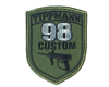 Tippmann 98 Custom Patch w/ Velcro