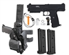 Tippmann TiPX Trufeed Deluxe Pistol Package - Black/Black