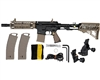 Tippmann TMC Paintball Rifle w/ Gas Thru Adjustable Stock - Black/Tan