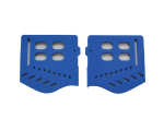 Trinity JT Soft Ear Pieces - Royal Blue