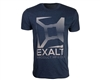 Exalt T-Shirt - Knockout - Navy/Grey