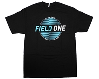 Field One T-Shirt - Seal - Black