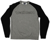 Valken Crew Neck Pull Over Sweatshirt - Embroidered - Grey/Black