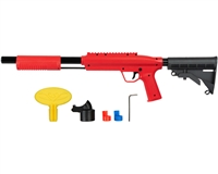 Valken Gotcha Tactical .50 Cal Paintball Shotgun w/ Stock - Red