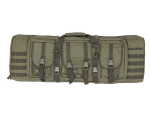 "Valken 36"" Double Rifle Tactical Gun Case - Olive Drab"