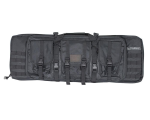 "Valken 42"" Double Rifle Tactical Gun Case - Black"