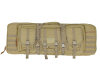"Valken 42"" Double Rifle Tactical Gun Case - Tan"