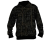 2011 Valken Branded Zip Up Hooded Sweatshirt - Black