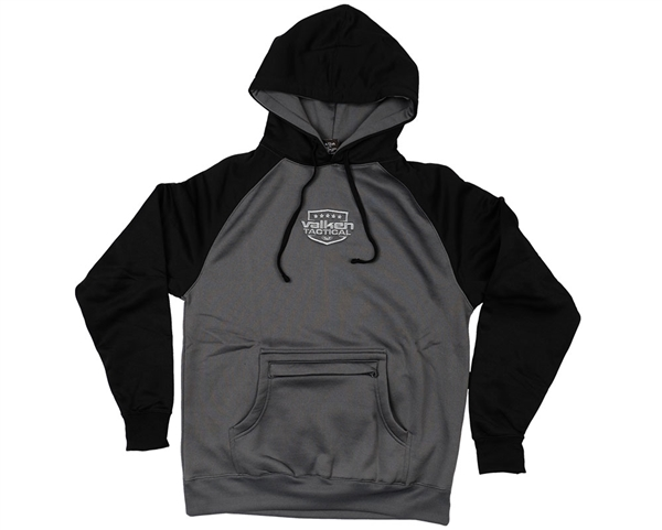 Valken Hooded Pull Over Sweatshirt - Deployment - Black