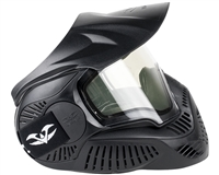 Valken MI-3 Thermal Field Paintball Mask - Black (V353204)