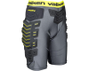 Valken Phantom Agility Padded Slider Shorts - Black