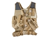 Valken Crossdraw Tactical Vest - Tan (Youth)
