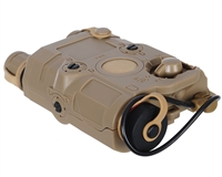 Vega Force Company PEQ15 Flashlight and Laser Combo - FDE