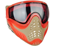 V-Force Profiler Paintball Mask - Red/Tan (Sunfire)