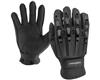 Valken Alpha Full Finger Plastic Back Paintball Gloves - Black