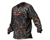 2012 Valken Crusade Paintball Jersey - Static Red