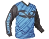 Valken Fate II Paintball Jersey - Black/Blue