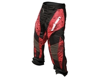 2013 Valken Redemption Paintball Pants - Red Scar