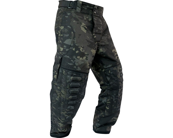 Valken V-Tac Paintball Pants - Zulu Pro - Black V-Cam