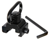 Warrior Paintball Detachable Sling Mount for 20mm Rails - Quick Release