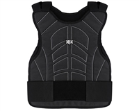 Warrior Body Armor Chest Protector - Black