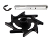Warrior Halo Aluminum Rip Drive Kit - Dust Black