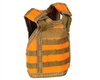 Warrior Tactical Vest Bottle Coozie - Orange/Tan