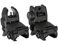 Warrior Flip Up Sights - Front & Rear
